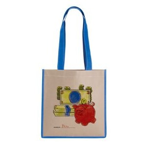 Kraft Magazine Tote Bag